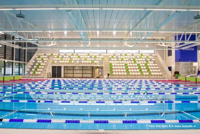 tribune stoelen voor zwembad zwolle sistim nederland b v